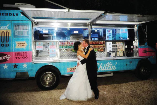 Food trucks for wedding receptions and rehearsals the latest rage in wedding catering is to utilize food trucks and couples everywhere are jumping onto this latest trend hiring a food truck to cater a junglespirit Images
